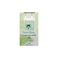 Roller Cartridge Depilatory Wax CLEAN EASY Tea Tree 3x79g