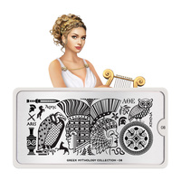 Stamping Nail Art Image Plate MOYOU Greek Mythology 08