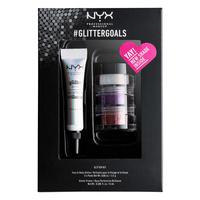 Set Gliter za lice i telo i prajmer NYX Professional Makeup #glittergoals GLISET03 3x1.5g