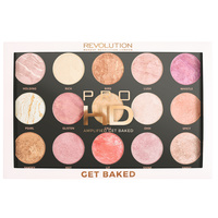 Paleta hajlajtera i iluminatora MAKEUP REVOLUTION Pro HD Amplified Get Baked