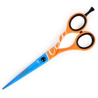 Makaze za šišanje FLUO narandžasto-plave