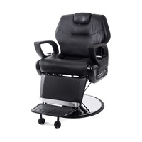 Hair Styling Barber Chair with Hydraulic DP-2107 With Adjustable Footrest Backrest and Headrest