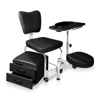 Chair for manicure and pedicure DP3506 multifunctional and adjustable