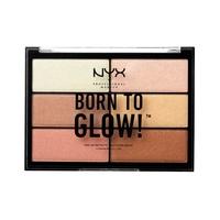 Paleta hajlajtera NYX Professional Makeup Born To Glow BTGHP01 6x4.8g