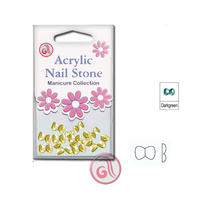 Zircons For Nail Art CRS48 Gold 3,0mm 48/1