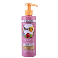 2u1 Hair Conditioner and Mask for Color Treated Hair LOVEA Cranberry 250ml