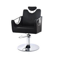 Hair Styling Chair with Hydraulic NV68423 with Adjustable Backrest and Headrest