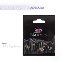 Metal Nail Decorations ASNGSS10