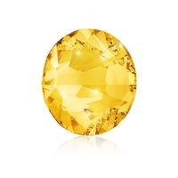 Nail Crystals SWAROVSKI A 2058 Xilion Rose Enhanced SS9 Light Topaz 40/1