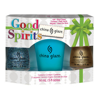 Nail Polishe Set CHINA GLAZE Good Spirits 2x14ml
