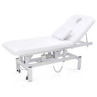 Kozmetički krevet za masažu, depilaciju i tretmane DP8230 dvodelni sa elektropodešavanjem