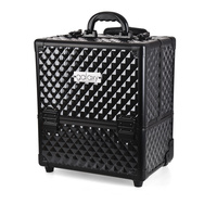Beauty Case for Tools and Accessories GALAXY  TC-3341BBD Black with Wheels