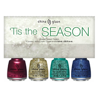 Nail Polishe Set CHINA GLAZE 'Tis The Season 4x9.76ml