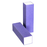 Block Nail File ENS Purple 100/100