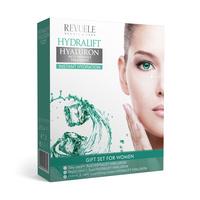 Poklon set za negu kože sa hijaluronskom kiselinom REVUELE Hydralift Hyaluron 3x50ml