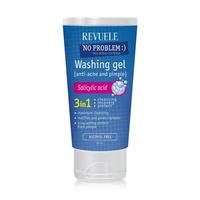 Gel za čišćenje i umirivanje kože lica REVUELE 3u1 No Problem 150ml