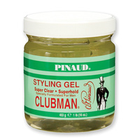 CLUBMAN Styling Gel - CLEAR 453g