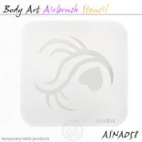 Body Art Stencils ASN-BMA-A058