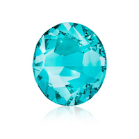 Nail Crystals SWAROVSKI A 2058 Xilion Rose Enhanced SS5 Blue Zircon 40/1