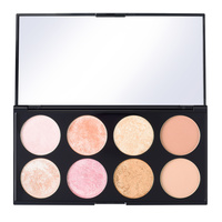Paleta rumenila, bronzera i hajlajtera MAKEUP REVOLUTION Ultra Blush Golden Sugar 2 15g
