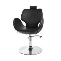 Hair Styling Chair with Hydraulic NV-68172 with Adjustable Backrest and Headrest