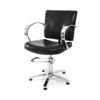 Hair Styling Chair with Hydraulic NS-6041 Black