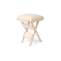Cosmetic stool MS03 foldable without backrest
