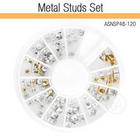 Metalic Nail Design ASNSP48