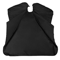 Salon Cape 10A1 Black 152x138cm