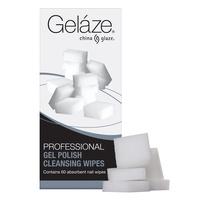 Professional Gel Polish Cleansing Wipes Gelaze 60pcs