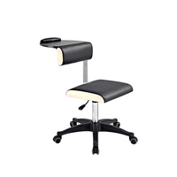 Cosmetic chair DP3507 with shelf and adjustable height