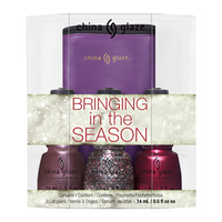Nail Polishe Set CHINA GLAZE Bringing in The Season 3x14ml