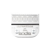 Spare Blade For Hair Clippers Andis Size 00000 SS - 0,2 mm