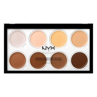 Cream Highlight & Contour Palette NYX Professional Makeup HCCPP01 8x2g
