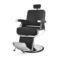 Hair Styling Barber Chair with Hydraulic NV-88012 with Adjustable Footrest Backrest and Headrest