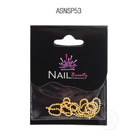 Metalic Nail Design ASNSP53