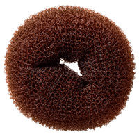 Hair Bun Sponge HS0012 Brown 8cm 9g
