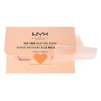 Papirići za matiranje lica NYX Professional Makeup Blotting Paper Tea Tree BPRTT 100/1