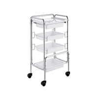 Cosmetic trolley DP5111 with four shelves