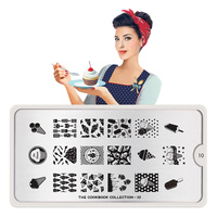 Stamping Nail Art Image Plate MOYOU Cook Book 10