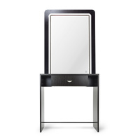 Mirror for Hair Salon NS8028AC with shelf and led lighting