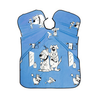 Cutting Cape For Kids 99A1 Light Blue 90x120cm