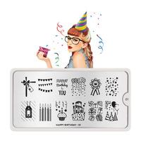 Šablon za pečate MOYOU Happy Birthday 01