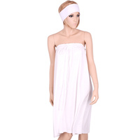 White Cosmetic Terry Robe 287