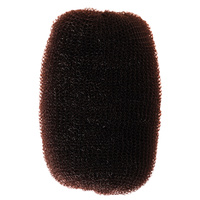 Hair Bun Sponge COMAIR Brown 7x11cm 14g