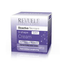 Regenerating Day Cream REVUELE Bioactive V-shape Peptides&Retinol Complex 50ml