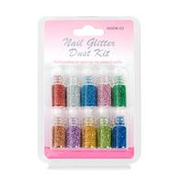 Nail Glitter Dust Kit NGDK03 10pcs