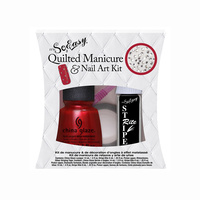 Quilted Manicure For Nail Art Kit IT'S SO EASY 5pcs