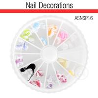 Nail Art Kit 3D Flowers ASNSP16