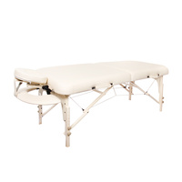 Cosmetic bed foldable portable Luban twopiece multipurpose
